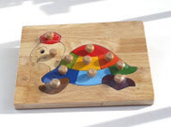 Wooden Animal puzzle Circle of Life Animal puzzle Puzzle