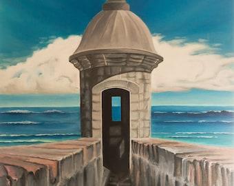 Puerto Rico Painting Etsy
