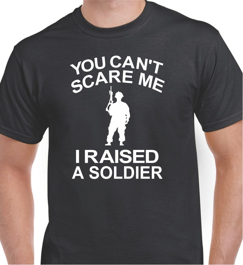 42d0fba3cf Military Shirts Veteran Shirts You Can't Scare Me I | Etsy