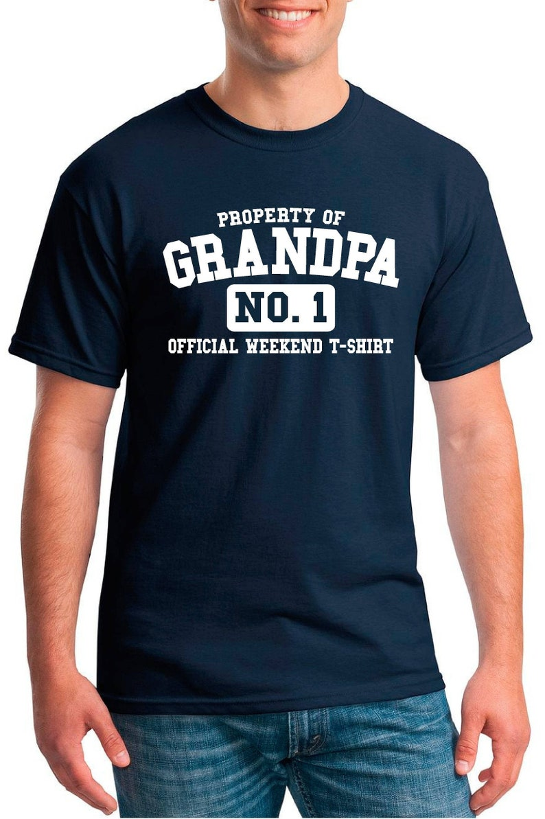 I Don/'t Mean To Be Awesome Grandad Mens Funny T-Shirt Father/'s Day Grandkids