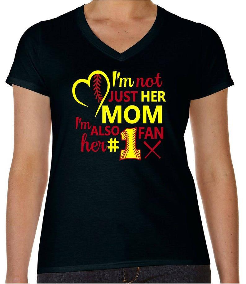 Sport Shirt Softball Mom Softball Mom Shirt Softball Mom Etsy