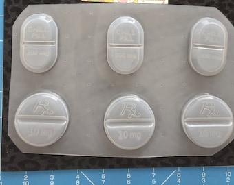 Chill pill molds