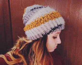 Yellow Noise | Slouchy Hat