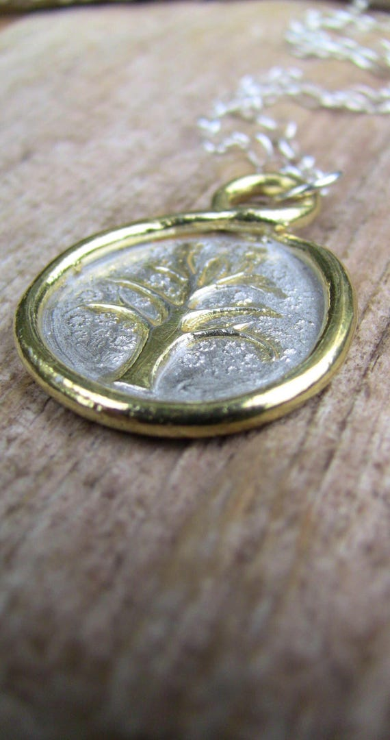 Sterling Silver Tree of Life Necklace, Gold Tree of Life Necklace, Tree of Life Jewelry, Tree Necklace
