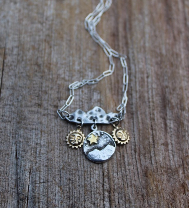 380eaa2d70 Sterling Silver ONE DAY at a TIME Necklace