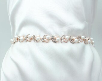 61eab0d1958 Blue Bridal Belt Wedding Belt Wedding Dress Belt Blue