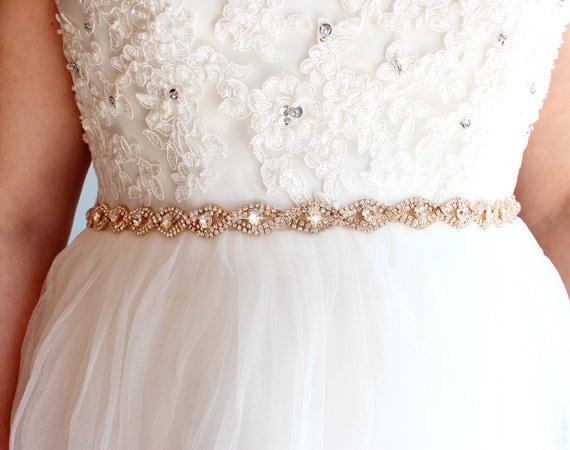 Wedding Dress Belts.Sale Rose Gold Wedding Dress Belt Bridal Belt Rose Gold Belt For Dress Bridesmaid Belt Wedding Sash And Belt Wedding Belt Rose Belt