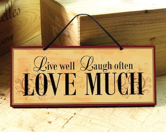 Wall Sign with Love Saying. Love Sign. Positive Saying. Wedding Gift. Inspirational Signs. Kitchen Sign. Positive Sign. Ready to Ship