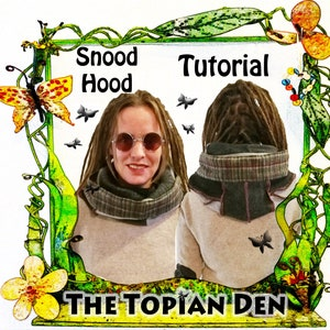 Upcycled Sweater Tutorial PDF Instant Download E-Book How to Pattern Guide Jumper Project Unique Clothing Izzie Design The Topian Den