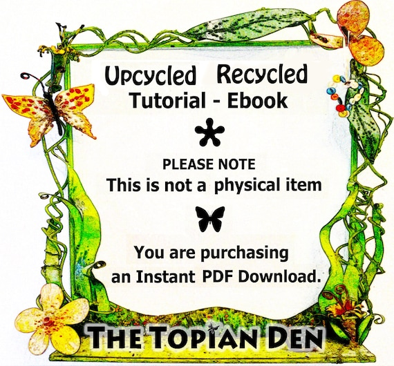 Recycled Sweater Tunic Willow Skirt Snood Hood The Topian Den Upcycled Tutorial PDF Instant Download E-Book Save 20/% when you buy all 3