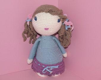 """Crochet Pattern Doll """"Lucy"""" PDF"""