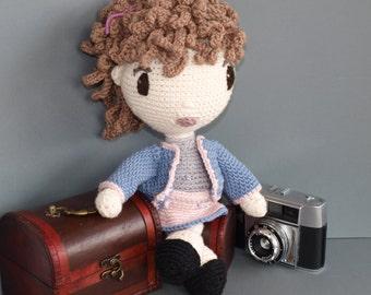 "Crochet Pattern Doll ""Coco"" PDF"