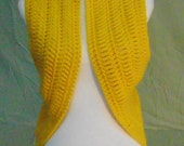 Crocheted Sweater Vest-Crocheted Small-Medium Sweater Vest-Crocheted Yellow Sweater Vest-Crocheted Small Sweater Vest-Handmade Sweater Vest