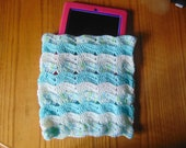 Crocheted Gift Ideas for Men and Women-Crocheted Electronic Case Cover-Crocheted Tablet and eReader Covers-Gifts Idea for Kid-Handmade Cover