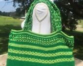 Tote Crochet Pattern -Garden Tote Crochet Pattern-Tote Bag-Tote Bag Crochet Pattern-Tote Crochet Pattern-Diaper Bag Crochet Pattern-Market