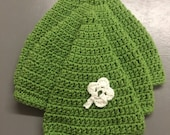 Crocheted Irish Pixie Hat for the Whole Family-Crocheted Irish Hat-Handmade Pixie Hat-Gift Idea for Men and Women-Handmade Gift Idea-Handmad