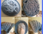 Blue Seuss Slouchy Hat Crochet Pattern-Blue Seuss Hat Pattern-Crochet Pattern for Slouchy Hat-Teen Slouchy Hat Pattern-HatNotHate-Pattern