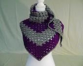 Crocheted Gift Ideas for Women-Crocheted Wrap/Cowl/Scarf/Shawl-Handmade Wrap/Cowl/Scarf/Shawl-Mother's Day Gift Idea-Handmade Gift Idea