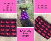 Crochet Pattern-Headband Crochet Pattern-Wrapped in Love Headband Crochet Pattern, Crochet Pattern for a Headband- How to Crochet a Headband