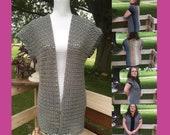 Jaide Sweater Vest Pattern-Sweater Vest Pattern-Sweater Vest Crochet Pattern-Crochet Pattern-Jaide Sweater Vest Crochet Pattern-Custom Order