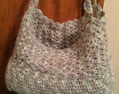 Crocheted Reusable Grocery Bag - Diaper Bag- Crocheted Tote Bag - Crocheted Market Bag - Reusable Market Bag - Tote Bag - Grocery Bag