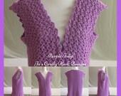 Sweater Vest Crochet Pattern-Tulip Sweater Vest Crochet Pattern-Sweater Crochet Pattern-Vest Crochet Pattern-Sweater Vest Pattern-Women's