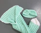 Crocheted Baby Blanket Bundle fits 3-9 months -Crocheted Baby Bundle fits 3-9 months-*Can be Made to Order*