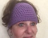 Purple Waves Messy Bun Hat Pattern-Crochet Purple Waves Hat Pattern-Pattern for Messy Bun Hat-Purple Waves Crochet Hat Pattern-Crochet Hat
