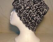 Crocheted Messy Bun Hat - Crocheted Reversible Messy Bun Hat - Crocheted Hat-Handcrafted Messy Bun Hat- Seasonal Hat