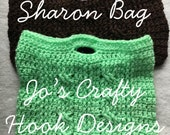 Crochet Purse Pattern-School Bag Crochet Pattern-Purse or Handbag Crochet Pattern, Lunch Bag Crochet Pattern, Crayon Bag, iPad Bag