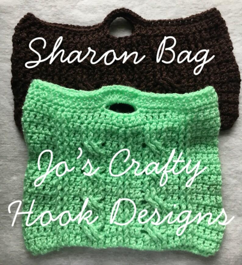 Crochet Purse Pattern-School Bag Crochet Pattern-Purse or image 0