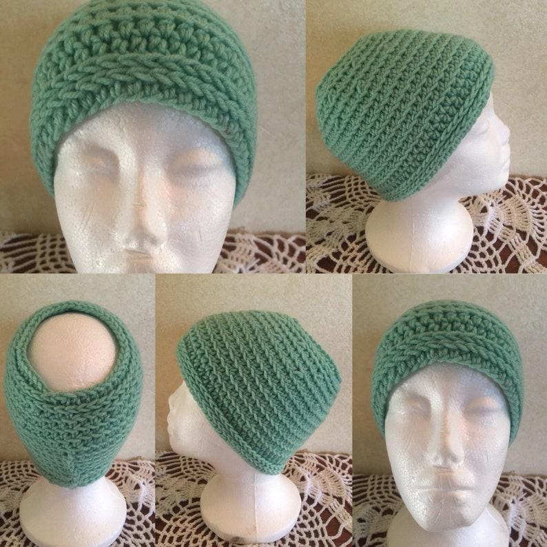 Crochet Pattern-Mint Julep Hat Pattern-Pattern for Crochet image 0