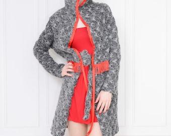 Sweater coat - wool 36 (S)