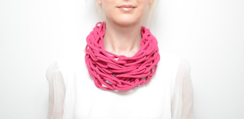 SALE Cotton necklace / scarf. image 0