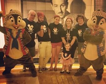 Disney Pirate Shirts, Disney Iron on, Disney Pirate Shirt, Mickey Pirate Shirt, Disney Family Cruise, Disney Cruise Shirt, Disney Cruise Bag