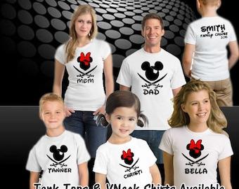 Disney Cruise Shirt, Disney Iron On Transfer, Disney Pirate Shirt, Mickey Pirate Shirt, Disney Pirate Shirts, Disney Family Cruise,