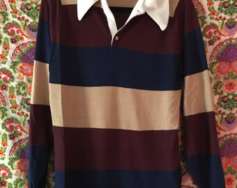 AMAZING 1970s Collared Polo