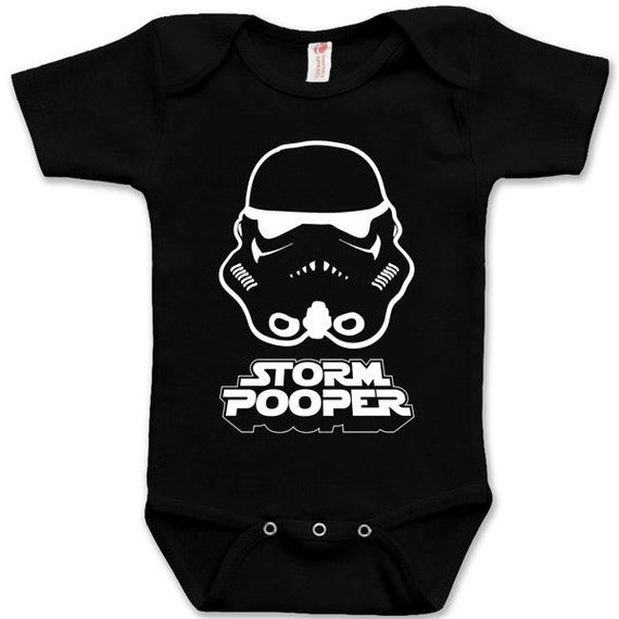 a016b46a11c9 Cute Funny Storm Pooper Child One Piece Star Wars Child Fun