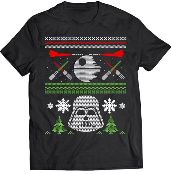 image 0 - Ugly Christmas Sweater Star Wars