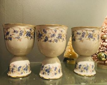Vintage Bavarian Porcelain Egg