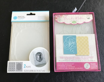 Couture Creations A2 Euro Embossing Folders Uniquely Designed Choice of Designs