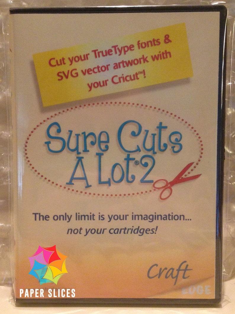 Sure Cuts A Lot 2 Software Windows  For Cricut image 1