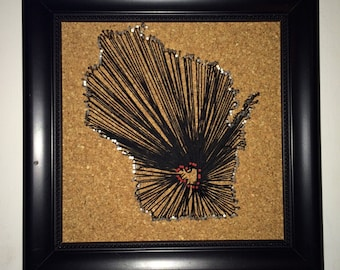 Wisconsin String Art