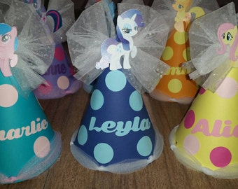my little pony birthday hat