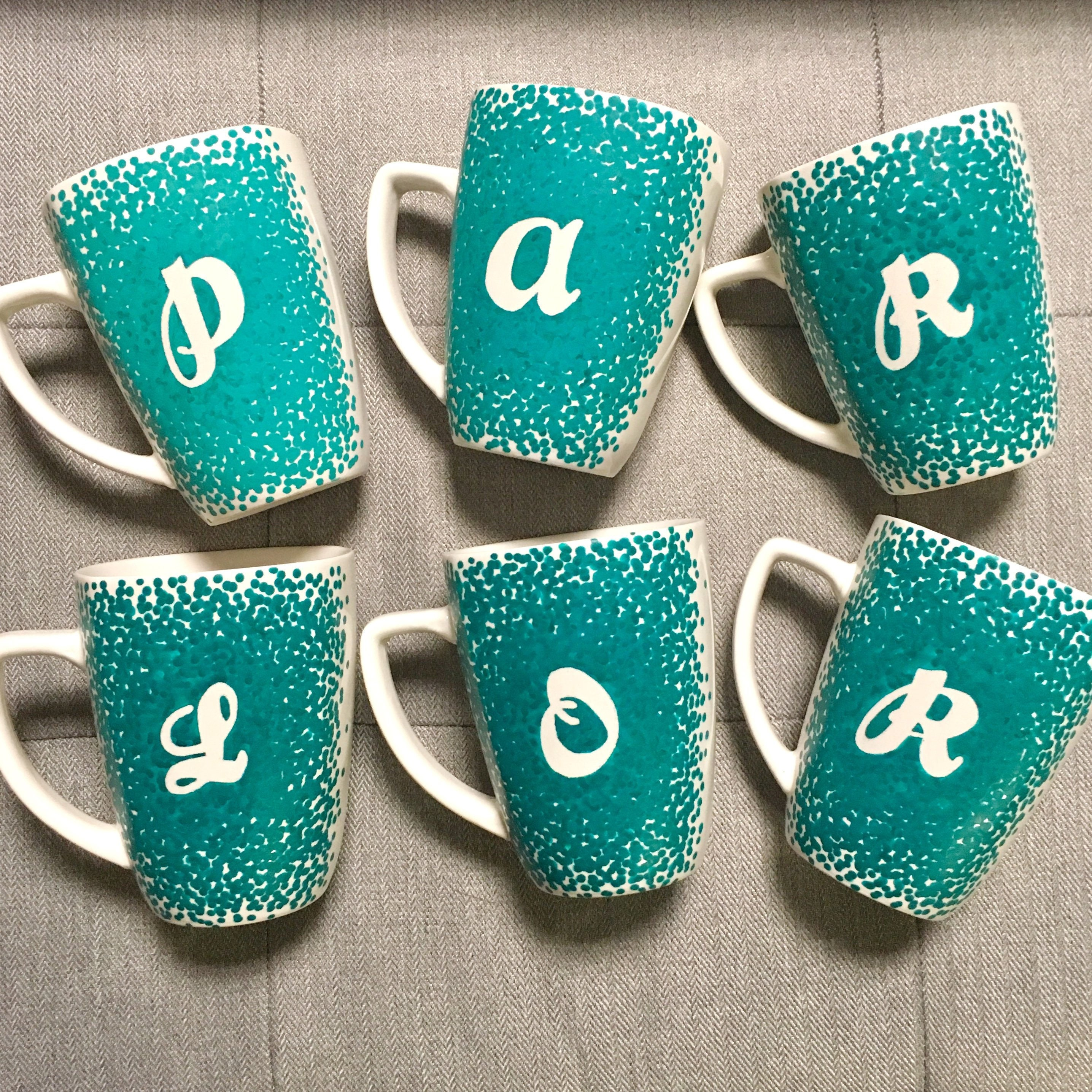 custom initials coffee mug custom coffee mug initials mug letter mug custom mug initial coffee mug letter coffee mug painted mug