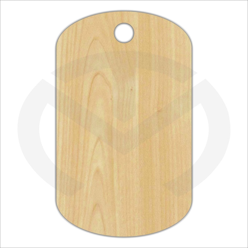 sale retailer 93670 925a7 Unfinished Wood Dog Tag Laser Cutout, Home Decor, Door Hanger, Freedom,  Army, Marines, Navy, Air Force, Military
