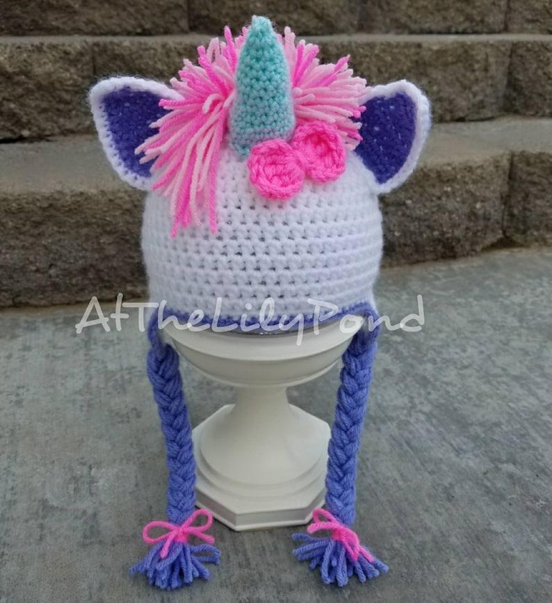 Unicorn Crochet Hat Unicorn Costume My Little Pony Unicorn Etsy