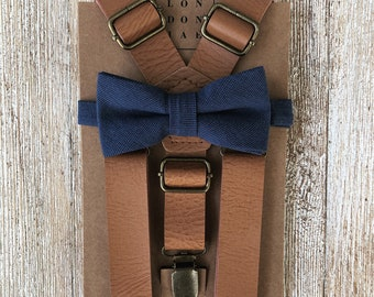 Men/'s Suspenders Kids Suspender Ring Bearer Outfit Boys Braces Coffee Suspenders Toddler Suspenders Brown Suspender Wedding Suspender