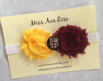 Adult pre-tied Cotton Bow tie with 18 adjustable black cotton strap. Florida State Seminoles FSU