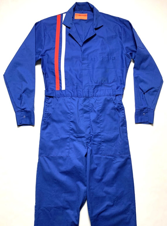 Vintage 1960s WORK WEAR Brand Coveralls ~ size 40
